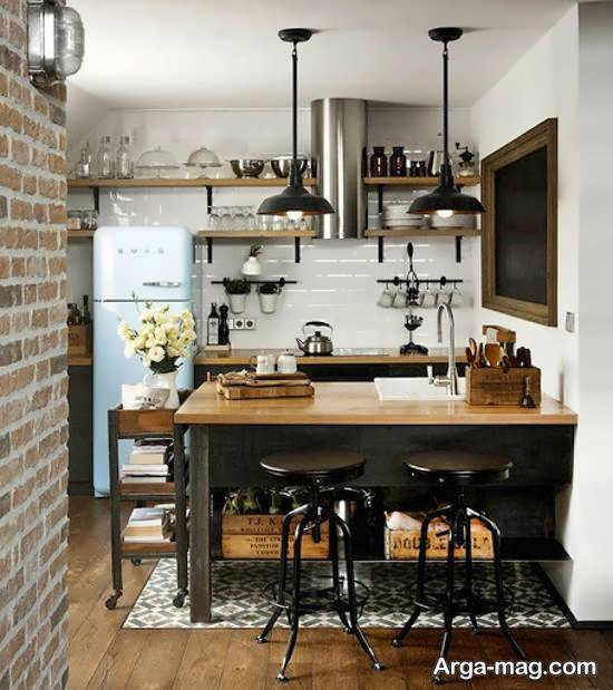نمونه هایی جالب و جذاب از سبک طراحی وینتیج برای اتاق ها