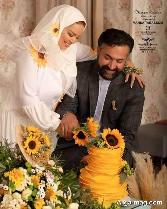 عکس های بهاره رهنما در سالگر ازدواجش