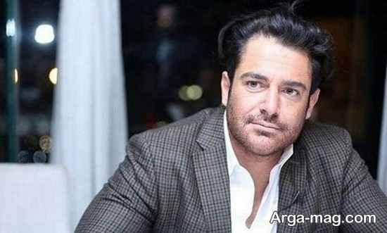 عکس محمدرضا گلزار در حال وانت سواری
