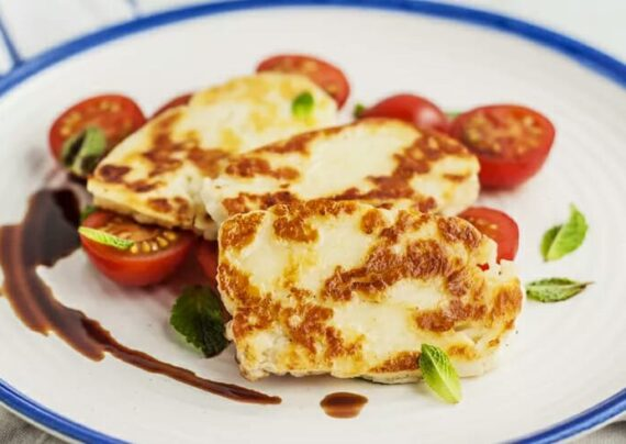 طرز تهیه پنیر کبابی