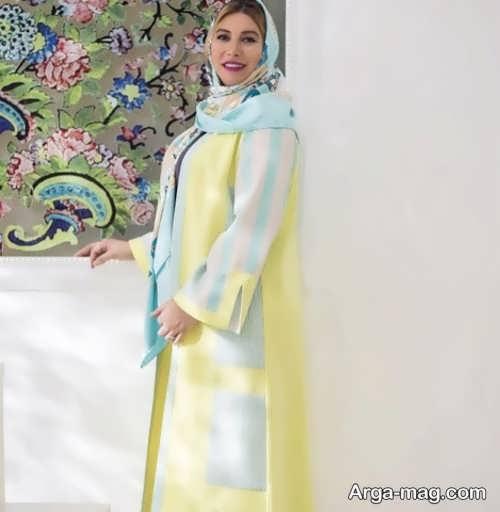 مدل مانتوی بلند فریبا نادری