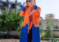 مدل مانتو نارنجی
