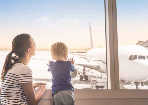 نحوه سفر هوایی با نوزاد