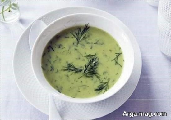 روش تهیه سوپ شوید خوشمزه و مقوی