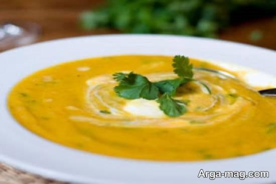 روش تهیه سوپ شوید و هویج خوش طعم