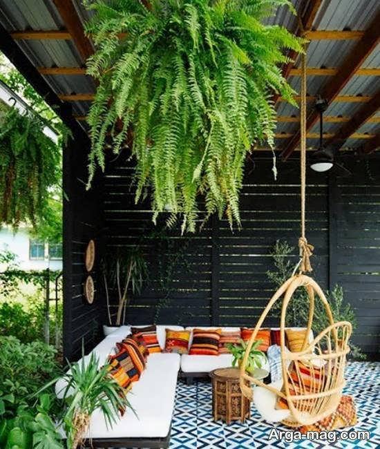 ایده هایی لاکچری و جذاب از تزیینات حیاط خلوت