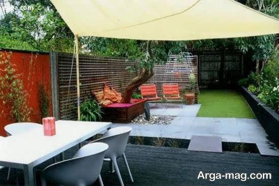 ایده هایی زیبا از تزیین حیاط خلوت