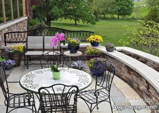 ایده هایی ایده آل از زیباسازی و دیزاین حیاط خلوت بزرگ و کوچک