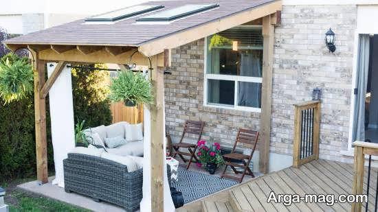 ایده هایی زیبا و خاص برای تزیین حیاط خلوت