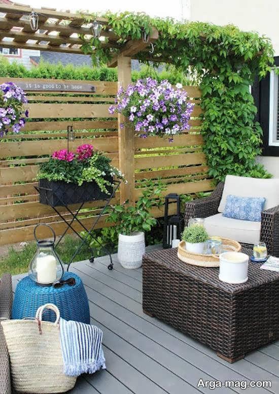 ایده هایی لاکچری از تزیینات حیاط خلوت