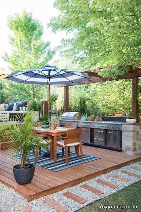 ایده هایی نو و جدید از تزین حیاط خلوت با طرح های جالب
