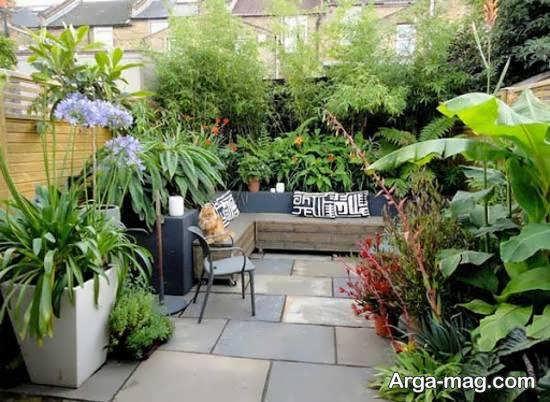 ایده هایی لاکچری و بینظیر از تزیینات حیاط خلوت