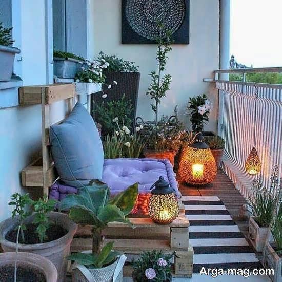 گالری لاکچری از زیباسازی حیاط خلوت