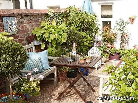 ایده هایی بینظیر و دوست داشتنی از تزیین حیاط خلوت برای تمامی سلیقه ها