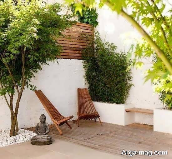 ایده هایی زیبا و منحصر به فرد از تزیینات حیاط خلوت