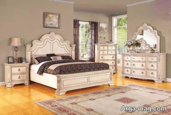 ایده هایی متفاوت برای دکوراسیون تخت خواب
