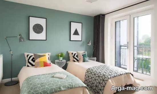 نمونه هایی بینظیر و جذاب از چیدمان تخت خواب برای تمامی سلیقه ها