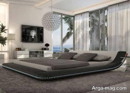 ایده هایی نو و متنوع از طراحی تخت خواب در اتاق خواب