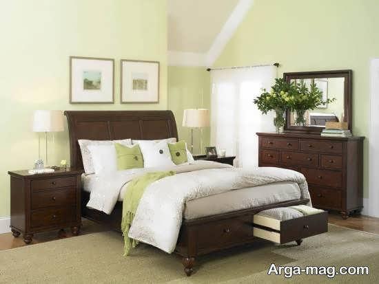 طراحی تخت خواب در اتاق خواب با روش های نو
