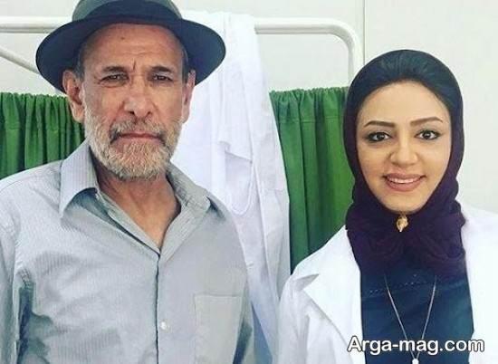 بیوگرافی حسین محجوب و همسرش