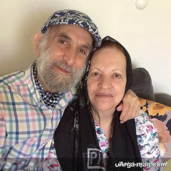 بیوگرافی اسماعیل خلج و همسرش