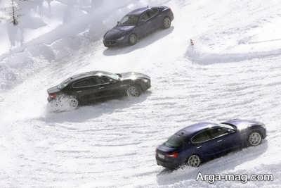 چطور از لیز خوردن خودرو در باران و برف جلوگیری کنیم؟