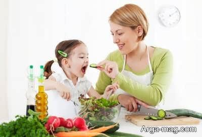 توصیه هایی در رابطه با رفع تنفر کودکان از سبزیجات