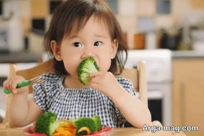 نکاتی در رابطه با تنفر کودکان از سبزیجات