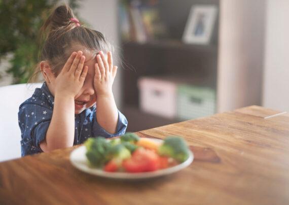 علت تنفر کودکان از سبزیجات چیست؟