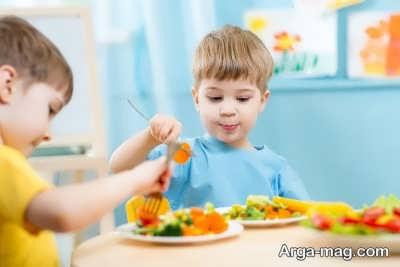 تاثیر هم سن و سالان در رفع تنفر کودکان از سبزیجات