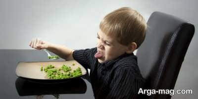 چگونه می توان تنفر کودکان از سبزیجات رفع کرد؟