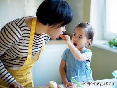 روش های از بین بردن تنفر کودکان از سبزیجات