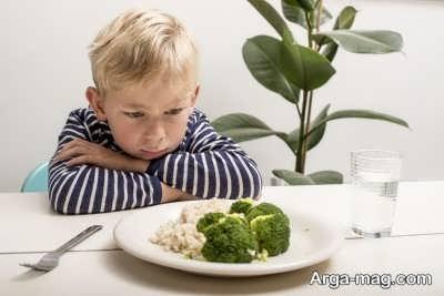 روش های رفع تنفر کودکان از سبزیجات