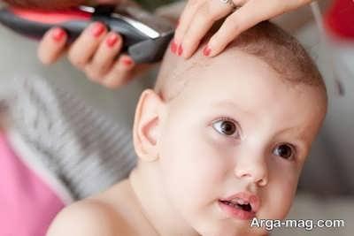 نگهداری از موهای کودک