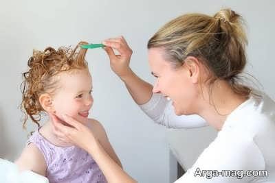 مواظبت از موی بچه ها