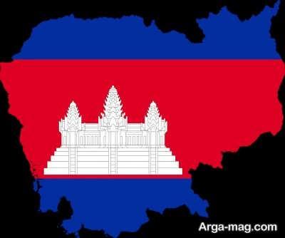 موقعیت جغرافیایی سرزمین کامبوج