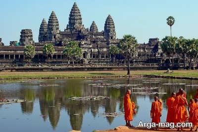 بازدید از شهر زیبای آنگور در کامبوج