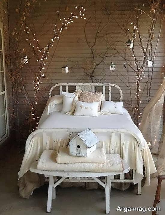 مجموعه ای بینظیر از زیباسازی اتاق با ریسه ی نور