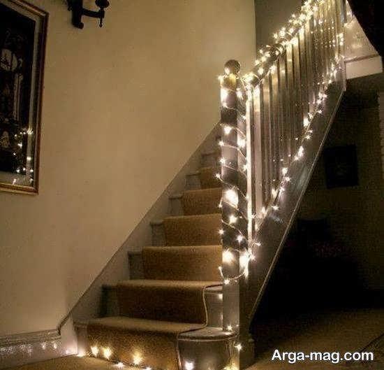 ایده هایی خاص و منحصر به فرد برای زیباسازی و دیزاین اتاق با ریسه ی نور