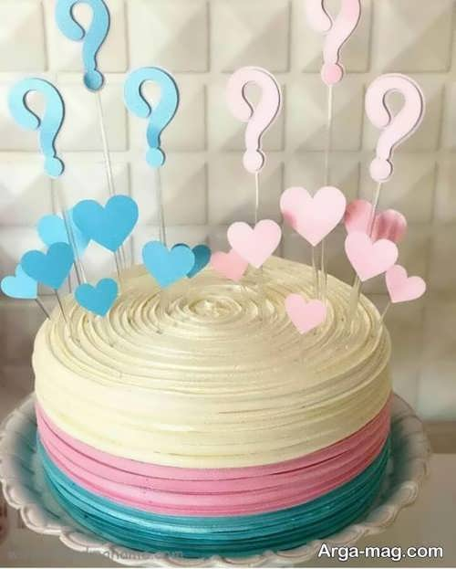 تزیین خاص کیک تعیین جنسیت