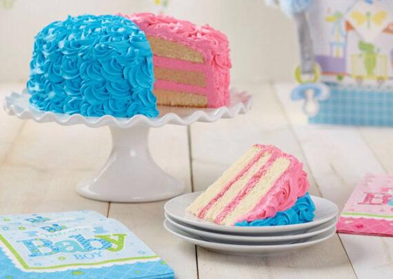 تزیین کیک تعیین جنسیت
