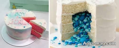 دیزاین زیبا کیک تعیین جنسیت