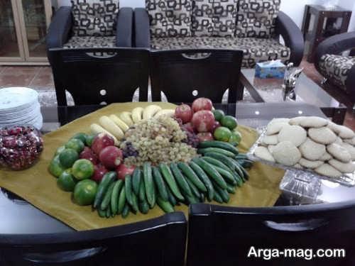 تزیین میوه برای میز خواستگاری