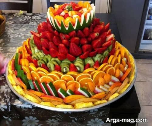 تزیین میوه برای پذیرایی