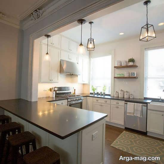 کلکسیونی خاص و متفاوت از دکوراسیون آشپزخانه به سبک ارگونومیک