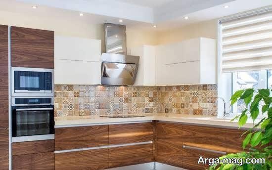 مجموعه ای متفاوت از طراحی آشپزخانه ارگونومیک برای آسانی بیشتر