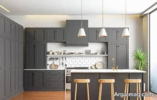 مجموعه ای خاص و بینظیر از دیزاین آشپزخانه ارگونومیک