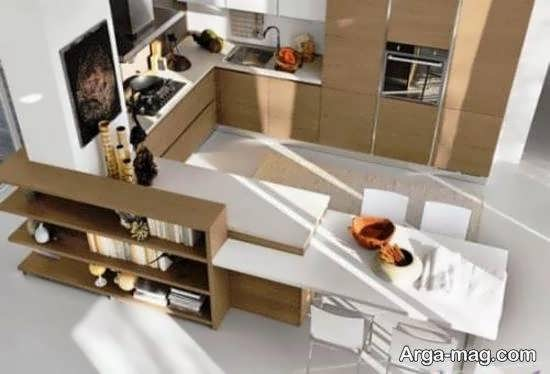 دیزان آشپزخانه به سبک زیبا و کاربردی ارگونومیک
