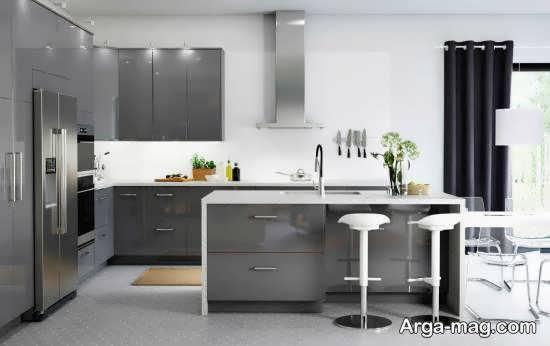 ایده هایی دوست داشتنی و مدرن از چیدمان آشپزخانه ارگونومیک