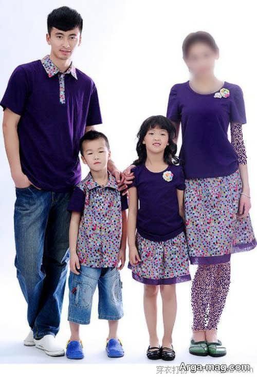 ست لباس برای اعضای خانواده